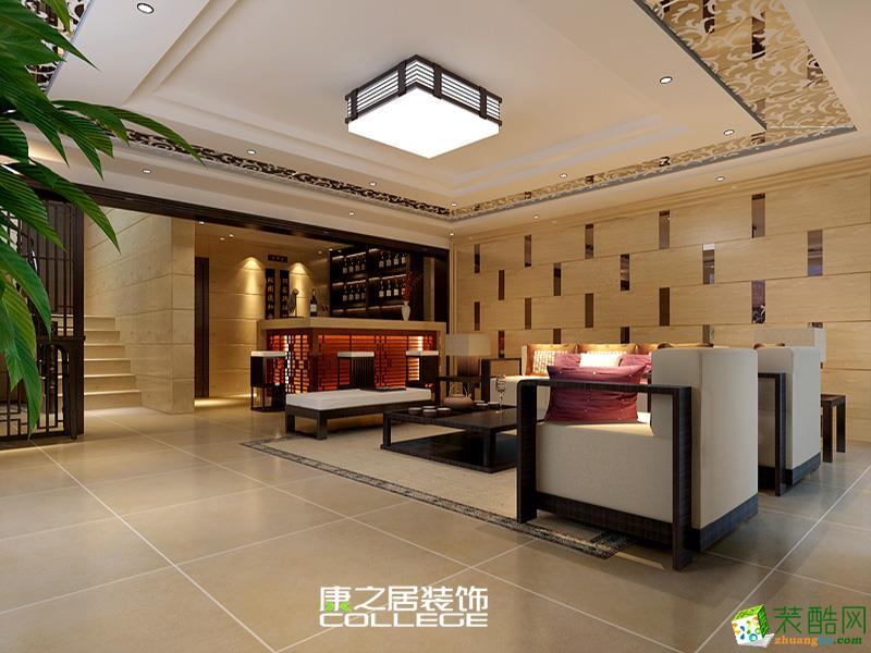 中央香榭现代风格四居装饰装修效果案例