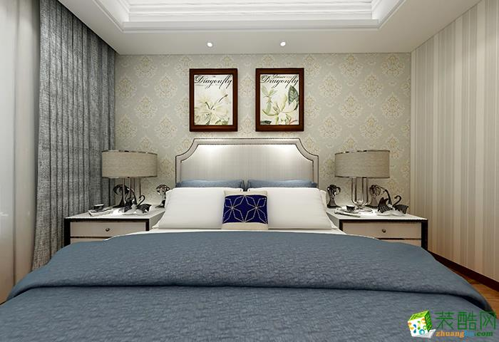 115平米三居室混搭风格装修效果图