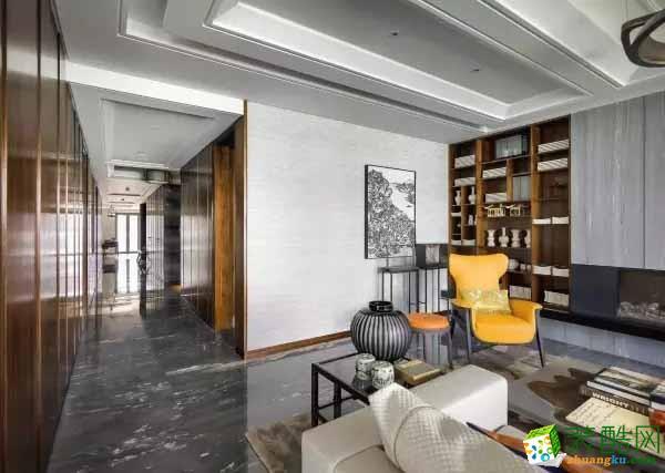 140平米現代中式風 儒雅高檔的家居空間