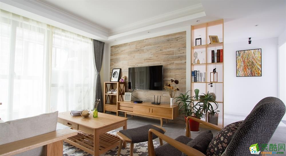 绵阳107�O三室一厅一卫装修设计效果图