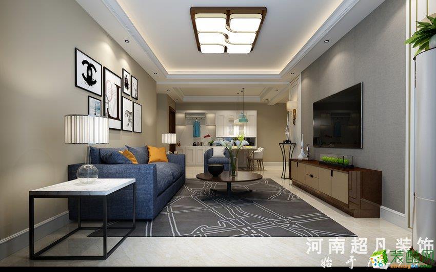 正商城裕园120平简约风格――超凡装饰三居室