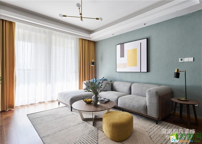 未來城118平北歐風格三居室裝修設計——超凡裝飾_北歐風格-三室兩廳一衛