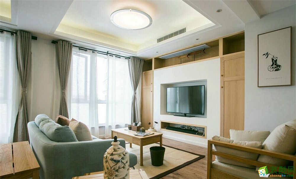 鄂州吴王公馆150㎡三室两厅简约温馨风格作品