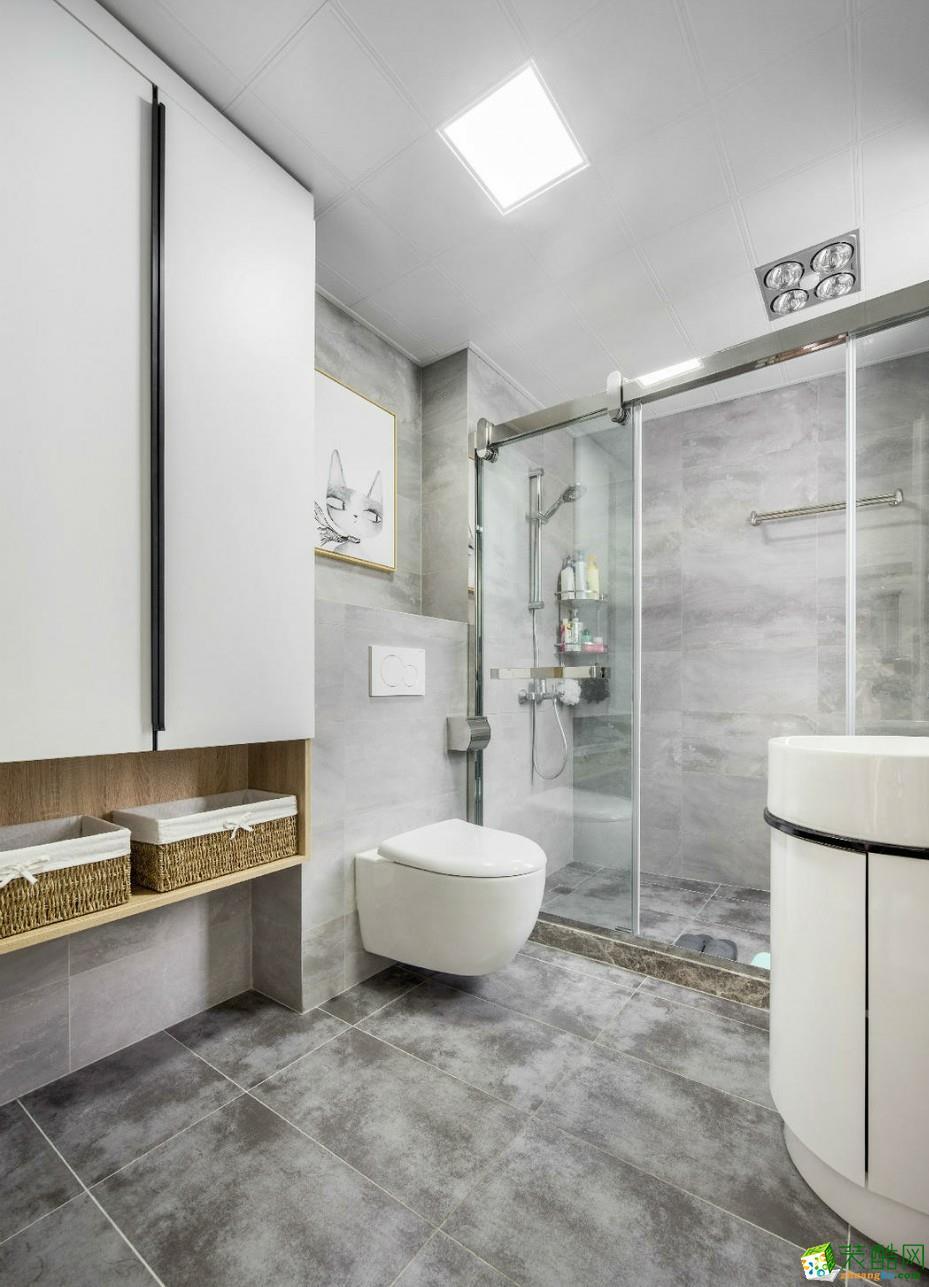 鄂州92�O三室一厅一卫北欧风格装修设计效果图