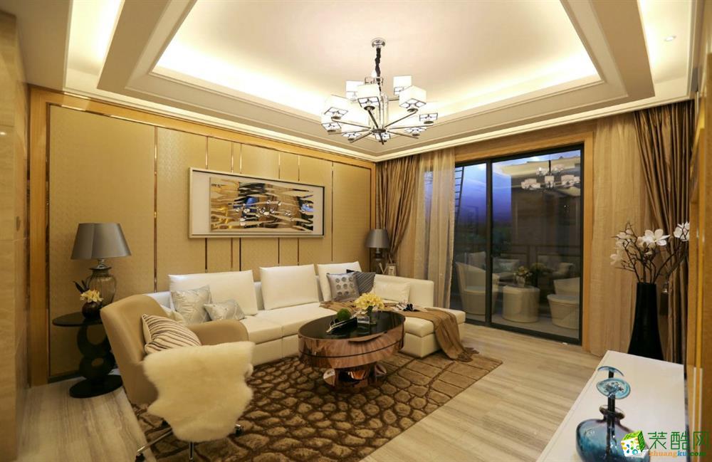 鄂州94平温馨简约风格装修设计作品