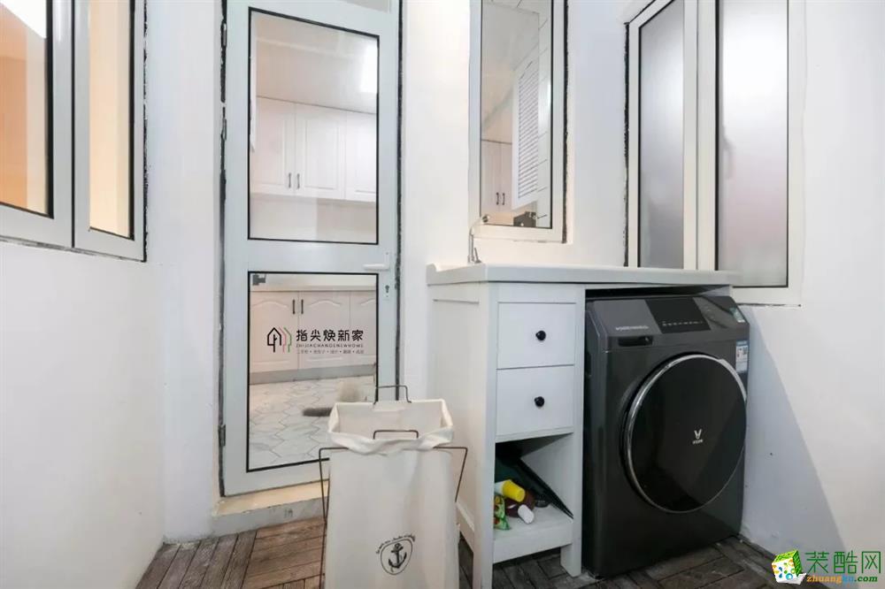 七星岗临华路小区全屋翻新案例,38�O老房变身舒适家