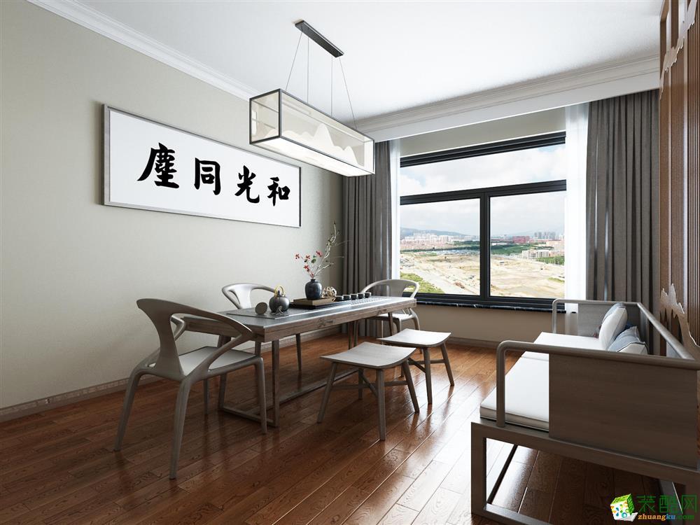 胶南大溪谷200平联排别墅设计装修效果图