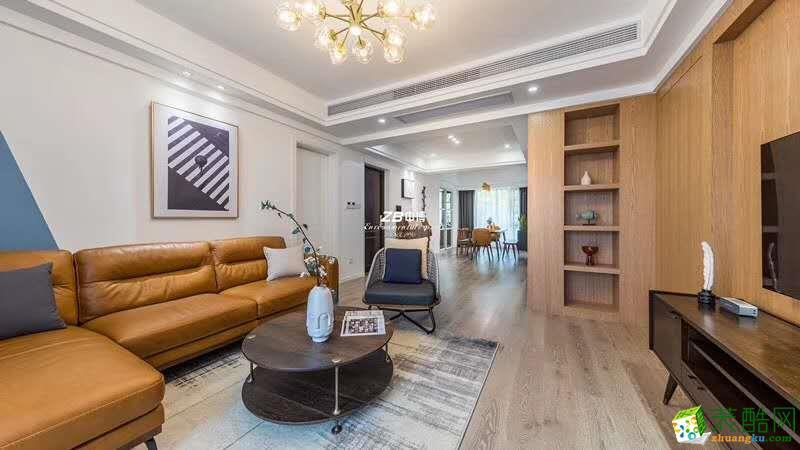 首开望宸145方北欧风格硬装加软装加十六件家具