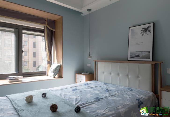 无锡水木清华装饰-85平米北欧两居室装修案例