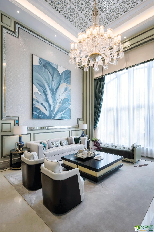 140㎡三居室,新古典的优雅格调!