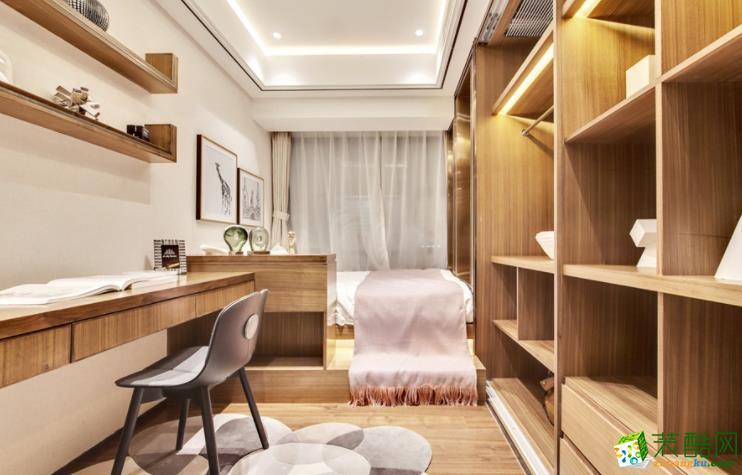 常州宏佳华装饰-120平米现代三居室装修案例
