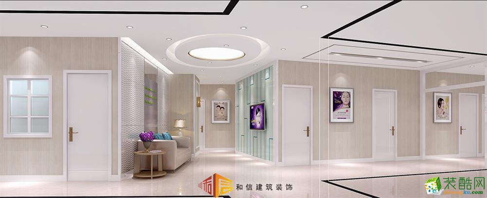 成都医院装修设计公司-正美医疗美容中心