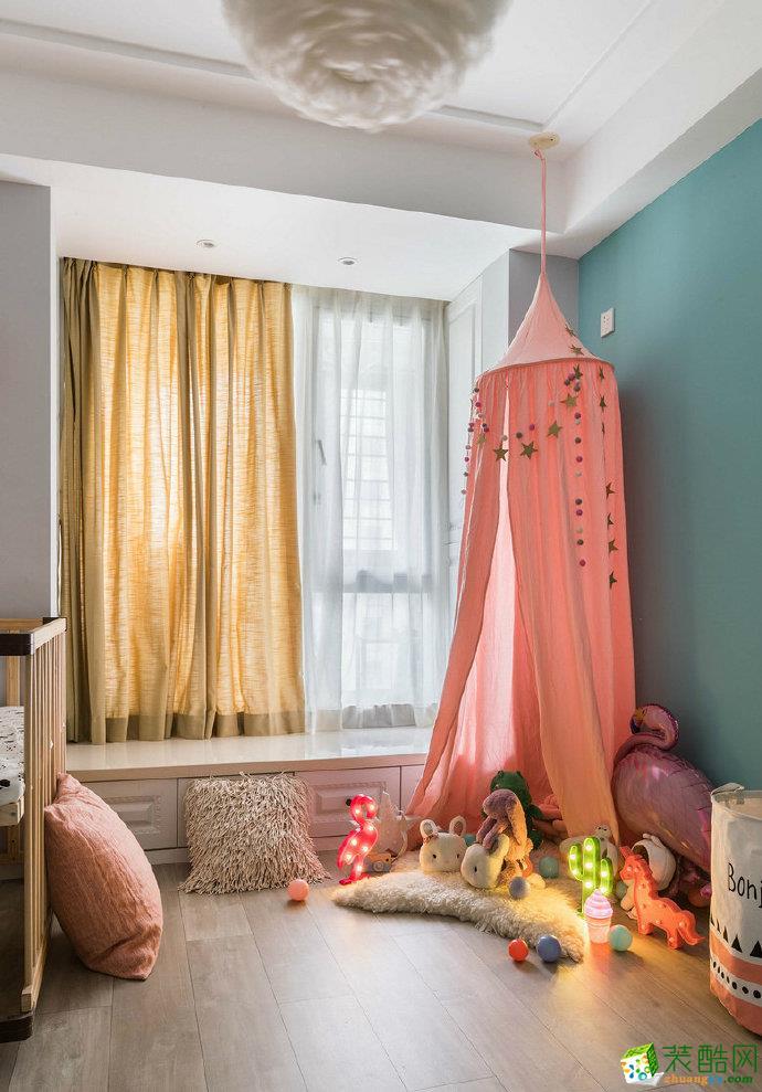【佳天下装饰】80�O温馨少女心的家,简约时尚小北欧二居室