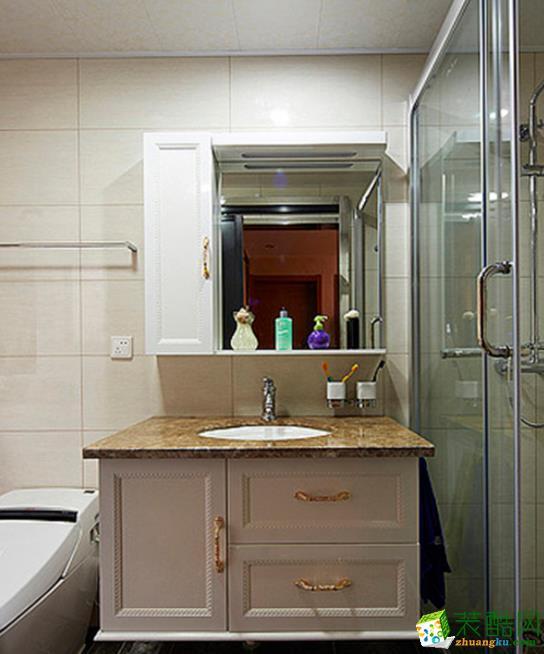 常州凯曼装饰-115平米古典三居室装修案例