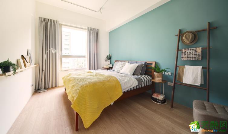 济南紫名都装饰-80平米现代简约两居室装修案例