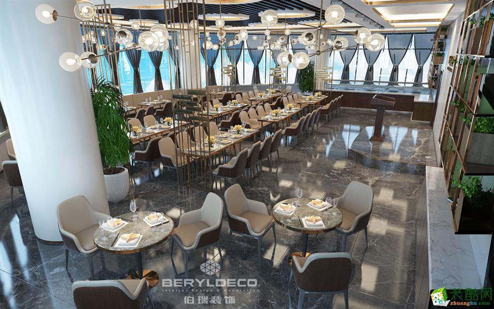500平餐馆装修效果图