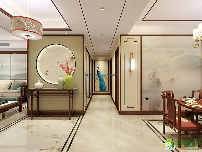 帝王国际163平米新中式风格