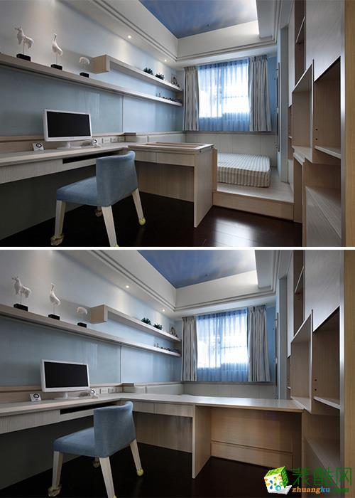 觀嵐裝飾-維科上院183平別墅風格裝修效果圖