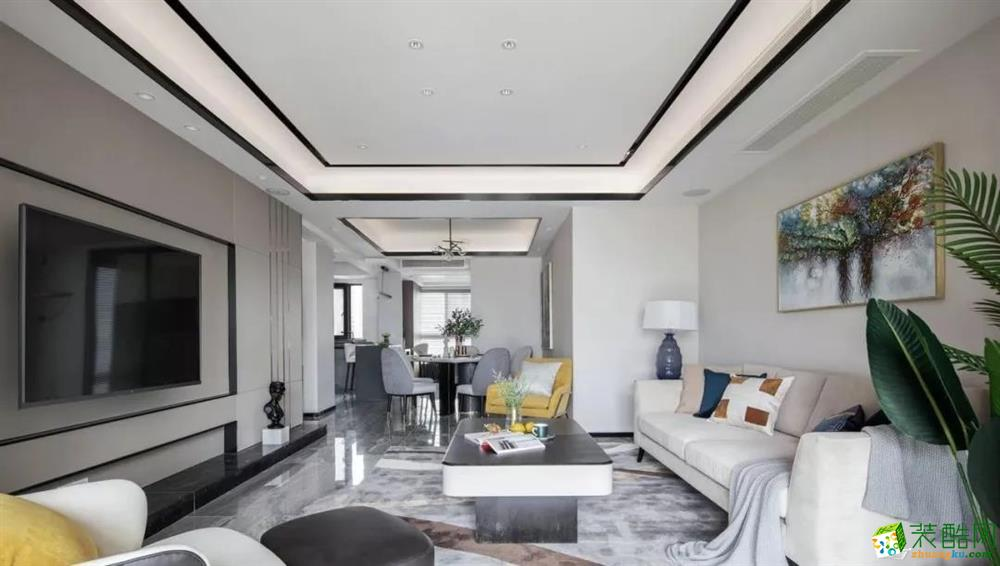 131平现代简约风,一个时尚精致的居住所
