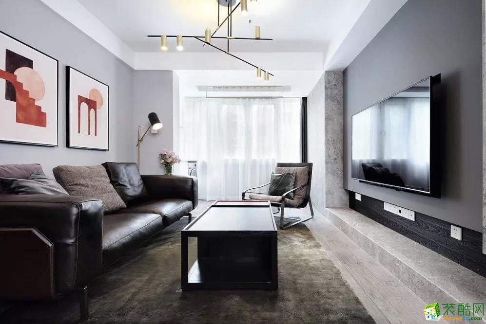 69㎡現代簡約風,打造非凡的高級質感_現代風格-兩室兩廳一衛