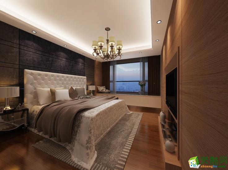 润泰装饰-100�O三居室现代简约风格装修效果图