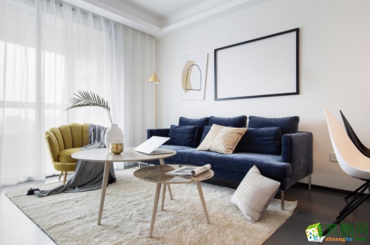 华浔品味装饰-120㎡三居室,最温馨的北欧风格