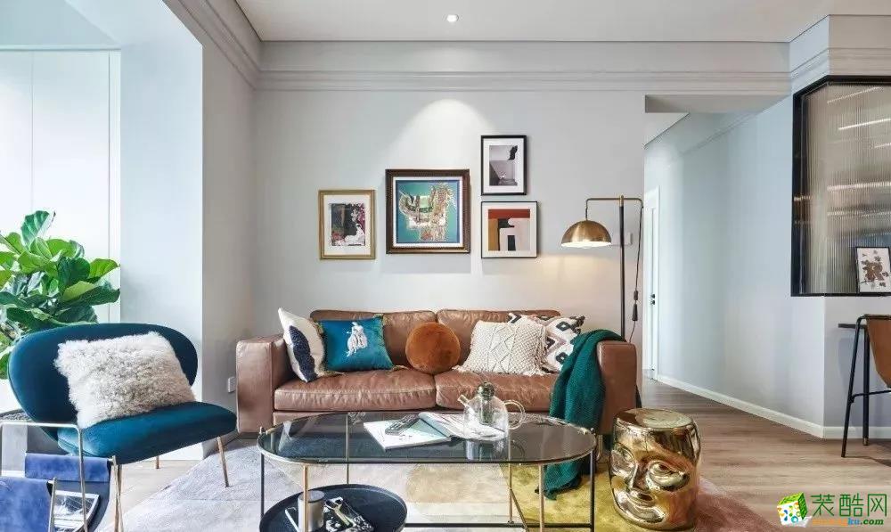 112平北欧风,复古质感的家具很有格调感