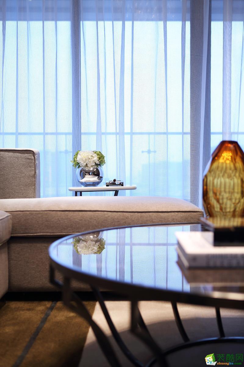 業之峰裝飾-金地風華東方139平現代風格裝修效果圖