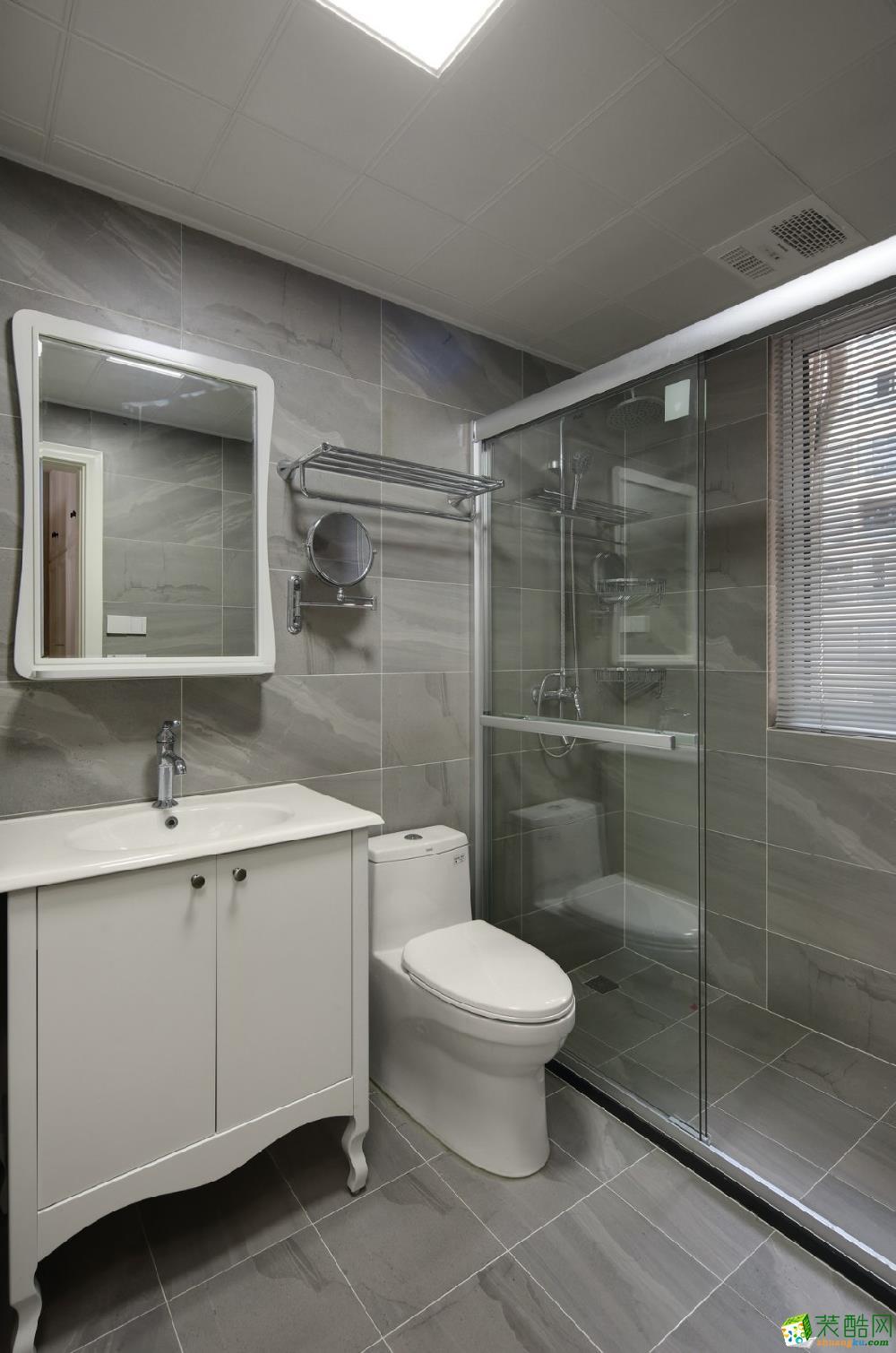 中梁天颂122�O三室两厅一卫北欧风格设计作品