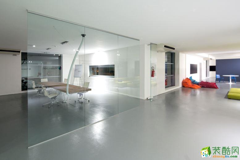 雅龍裝飾-170平創意辦公室裝修效果圖