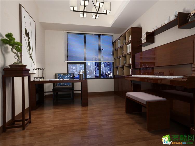 石家庄160平四房两厅中式风格效果图