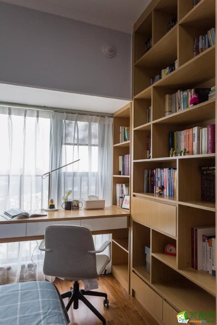【佳天下裝飾】90㎡清新文藝的北歐風和三居室裝修設計
