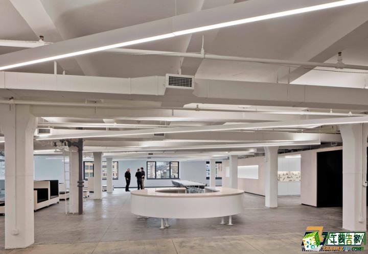 西安2000平米办公室装修案例