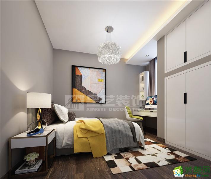 亨特翠山国际115平三室两厅一卫现代简约风格装修效果图