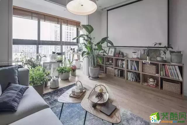 120平中式文藝三居室 超強收納 軟裝推薦