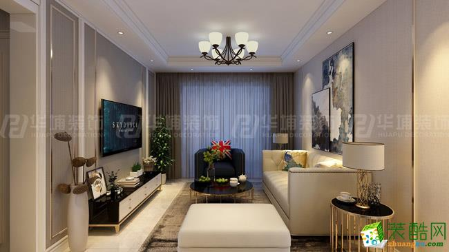 五建新街坊89平两室两厅现代风格