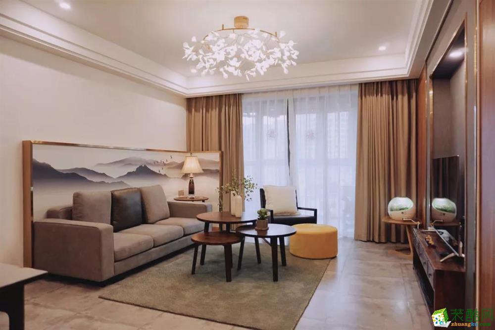 170平米中式风格四室装修效果图