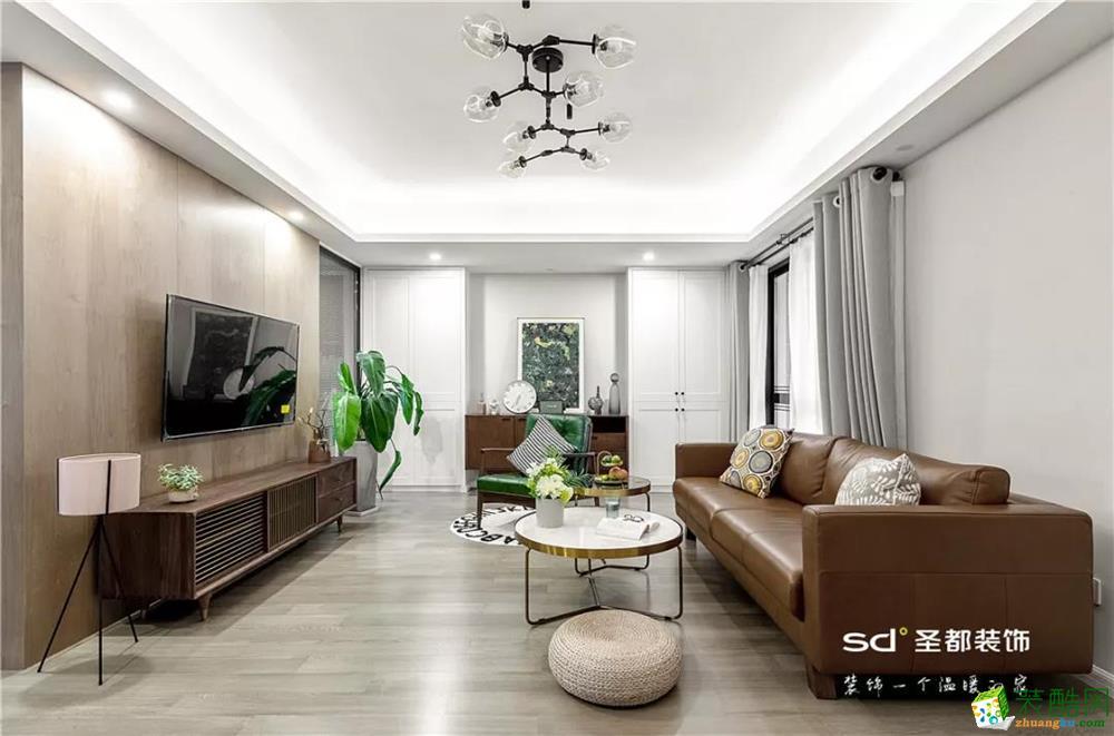 杭州·西城年华145方现代北欧风设计作品