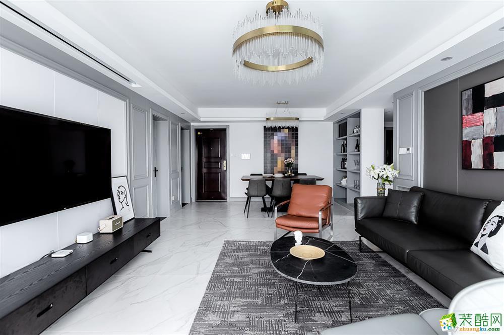 162三室两厅两卫现代风格装修效果图
