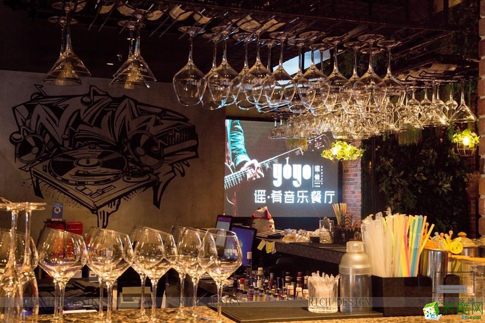 500平音乐餐厅装饰案例效果图