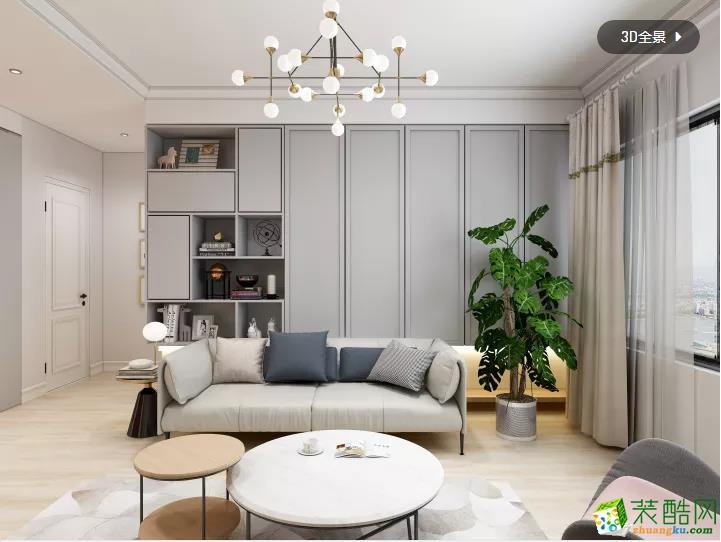 广州两室两厅-99㎡混搭装修效果图-匠欣装饰