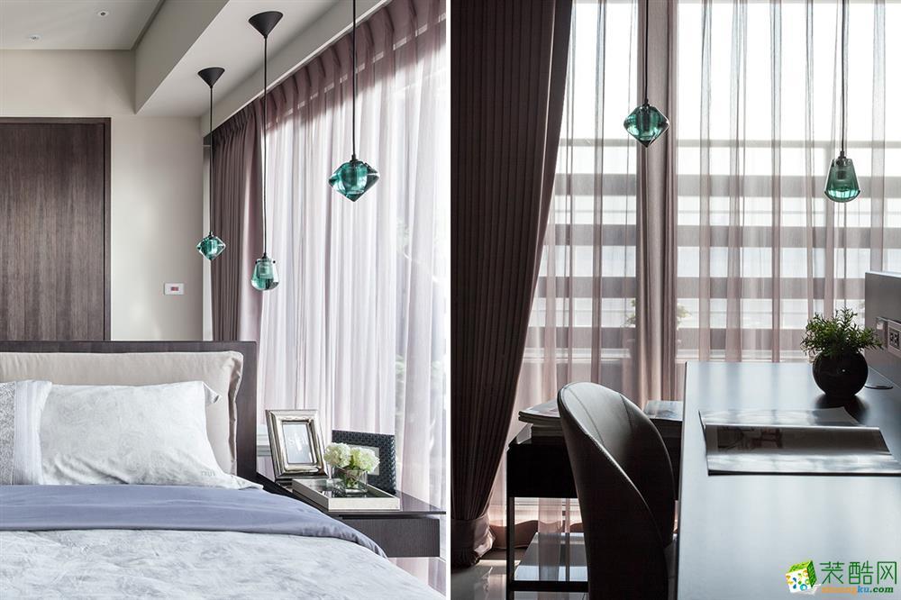 觀嵐裝飾-天合家園170平臺式風格裝修效果圖