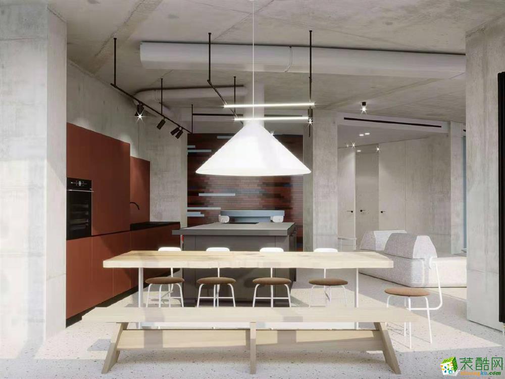 中央大街140 m2简约风格装修案例