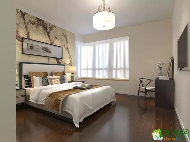 常州恒杨家装饰-114平米新中式风格