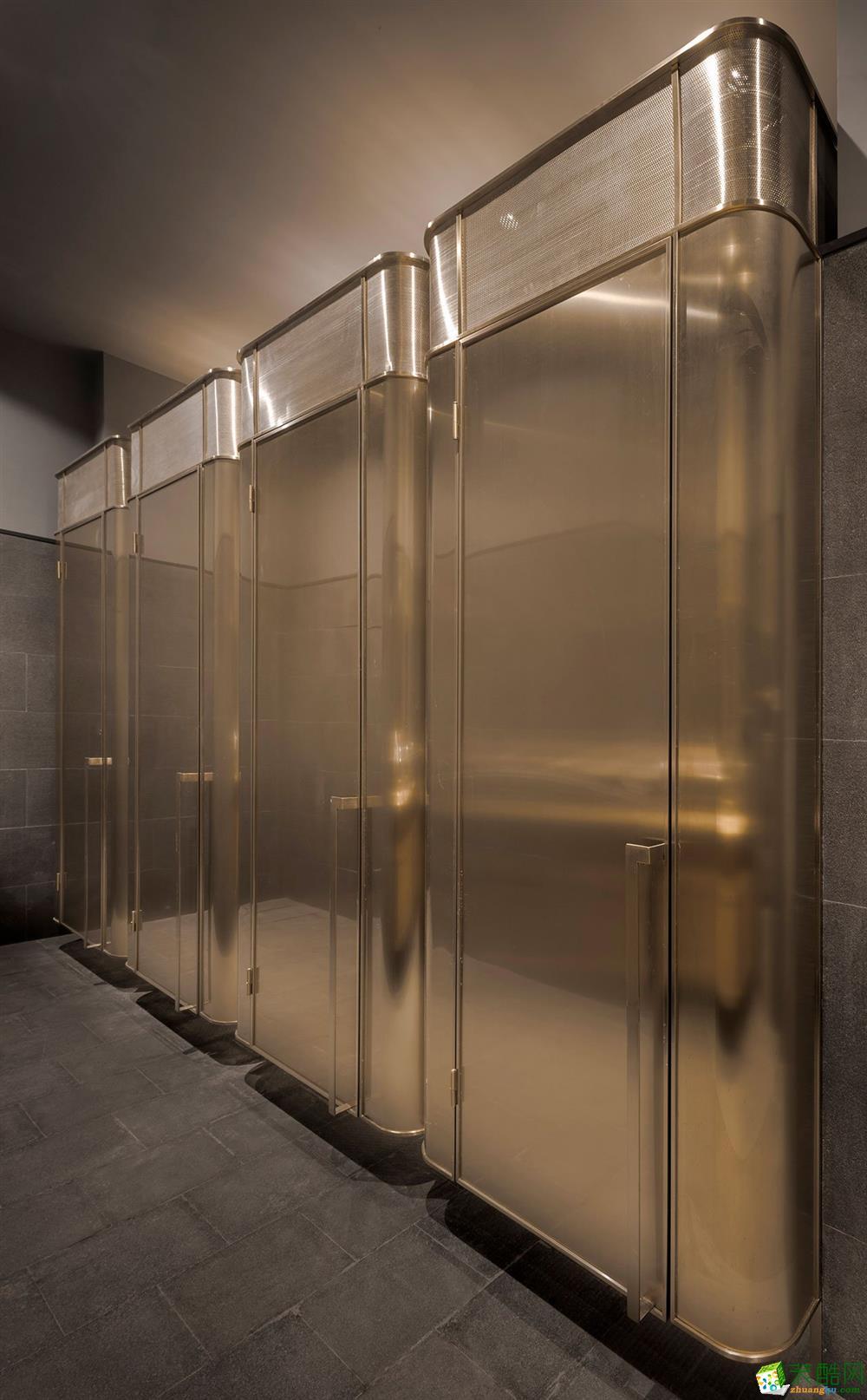 筑美優創裝飾-180平辦公室裝修效果圖