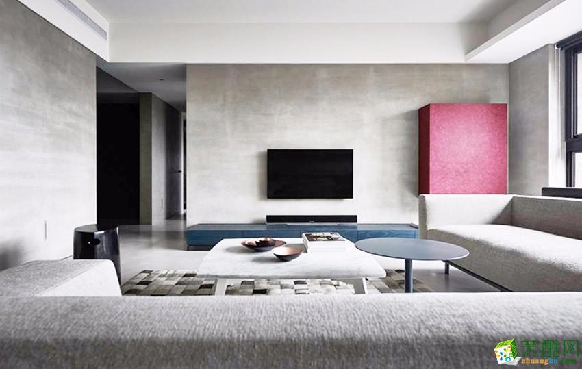 广州三室两厅-160㎡现代简约装修风格效果图-?#20004;?#35013;饰