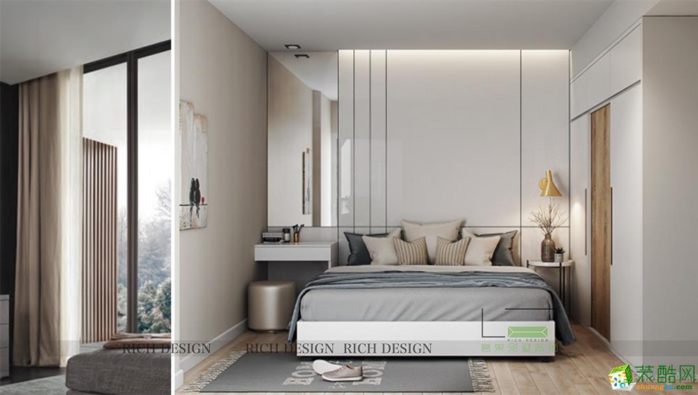 港铁天颂200平米现代风格跃层住宅装修案例图片