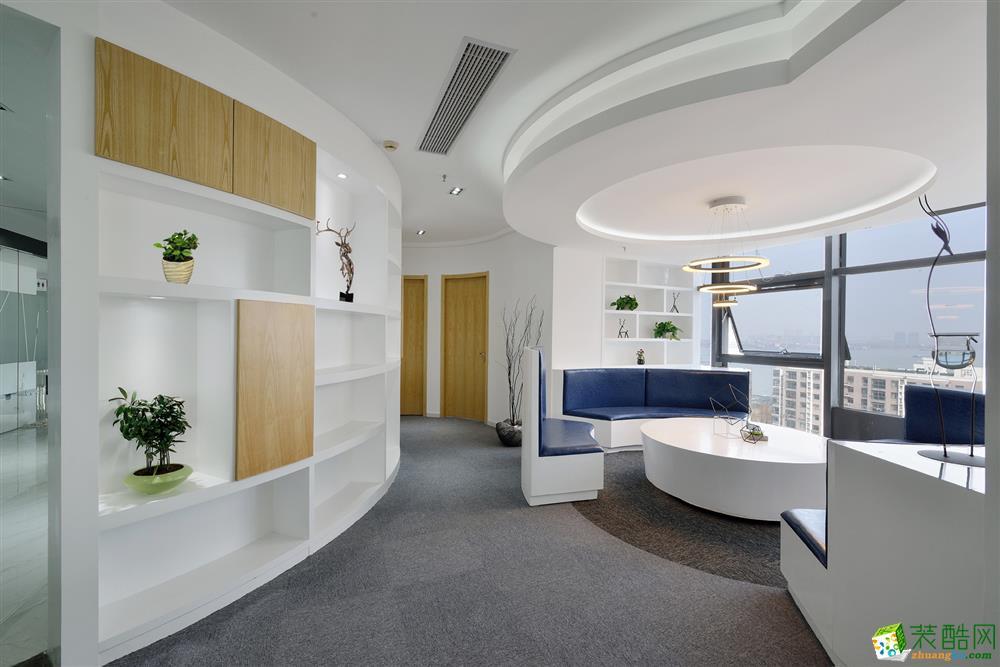 上海1000平米办公室装修案例图片