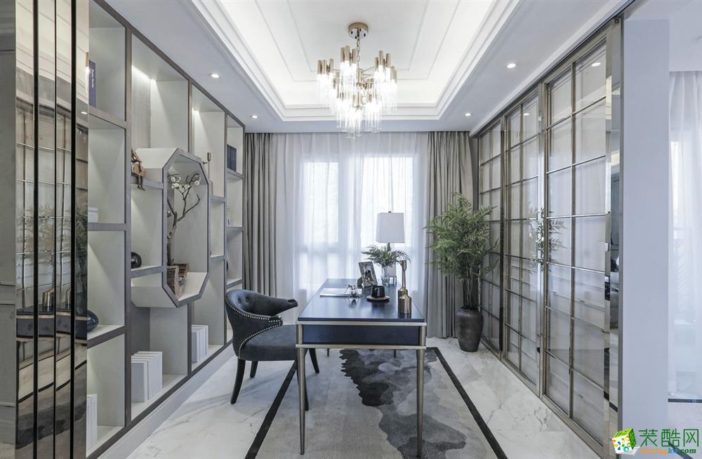 上海160平米法式风格装修案例效果图片