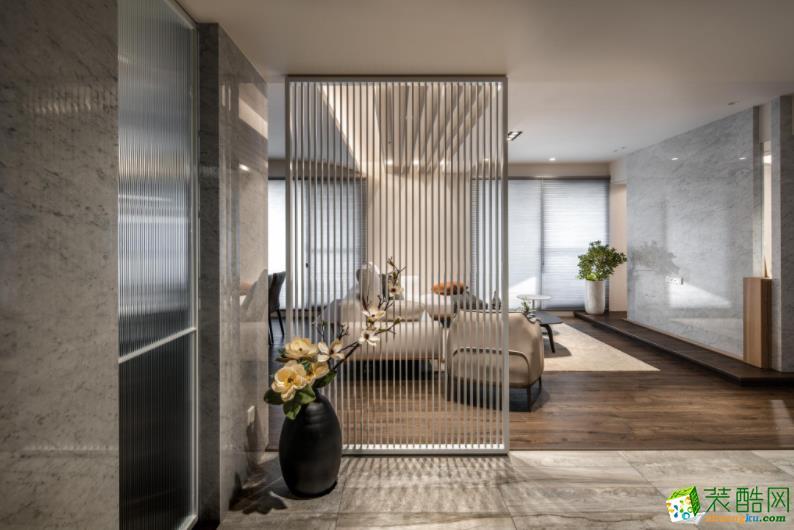 樂山120㎡三室現代風格裝修效果圖-盛世領域裝飾